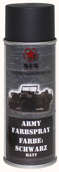 Katonai álcázó festék, matt fekete, 27375A