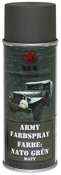 Katonai álcázó festék, NATO zöld, 27375B