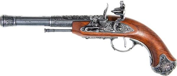 Indiai kovás pisztoly, balkezes, 100-1296