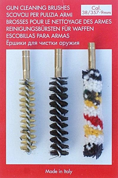Tisztítókefe készlet, 9 mm (.36, .375, .38)