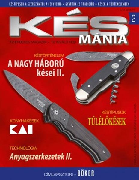 Késmánia magazin ajándék késsel, 2. szám, 2015 november