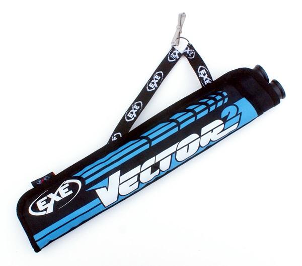 EXE Vector övtegez, 2 csöves, kék-fekete, 53I580