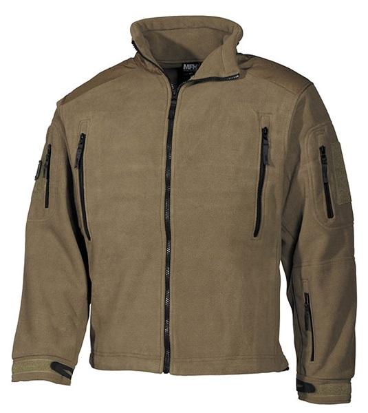 """Polár kabát """"Heavy-Strike"""", coyote tan, 03841R"""