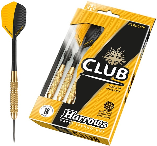 Harrows Club Brass Steel darts készlet