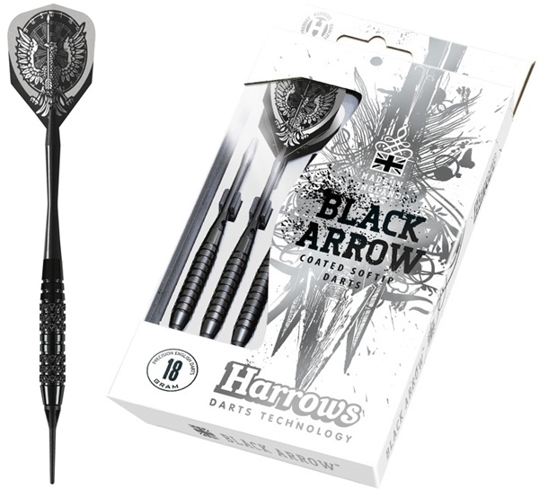 Harrows Black Arrow soft darts készlet