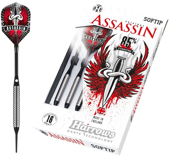 Harrows Assassin 85% soft darts készlet
