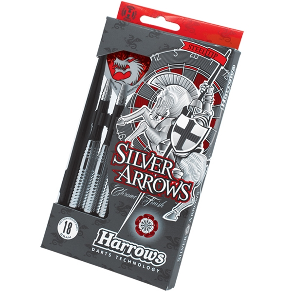 Harrows Eric Bristow Silver Arrows steel darts készlet