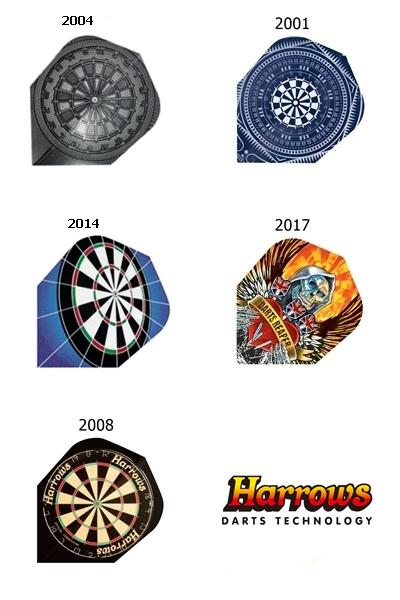 Harrows Quadro darts toll