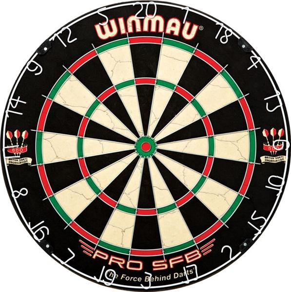 WINMAU PRO SFB szizál darts tábla, WI3015