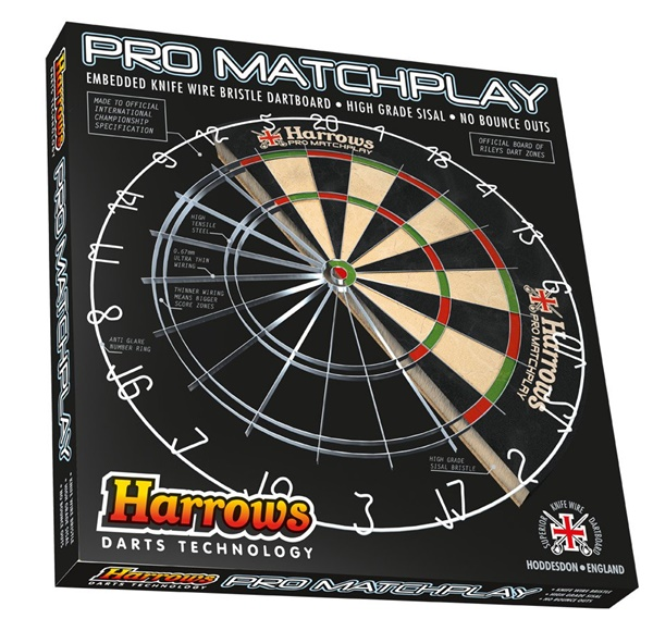 Harrows Match Play szizál darts tábla, EA307