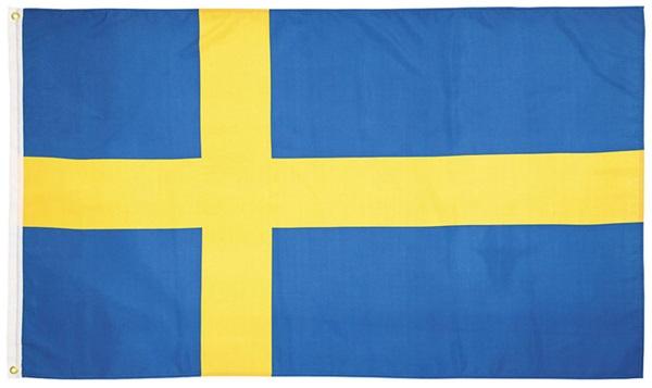 Svédország zászló, 35104D