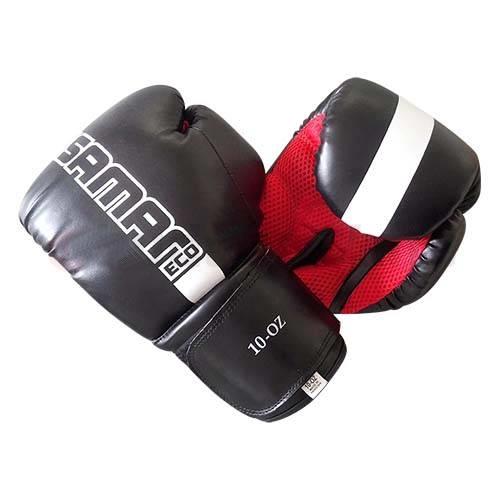 Saman Mesh boxkesztyű, műbőr, fekete