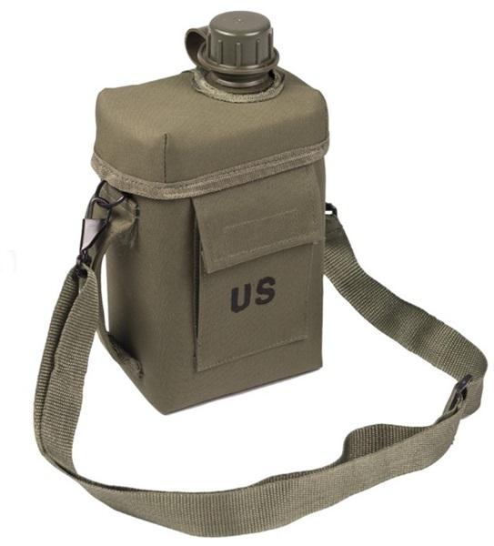 US katonai kulacs, 2 literes, oliv, 14514001