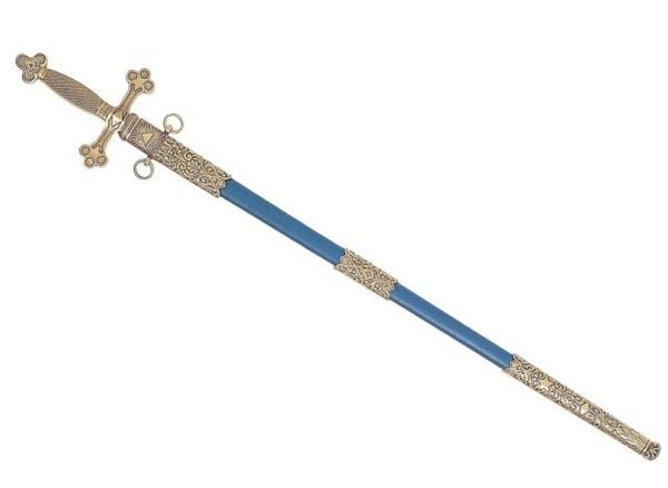 Szabadkőműves kard replika, 100-4119