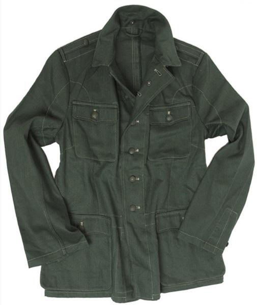 M40 típusú német WH Drillich kabát, 18110400