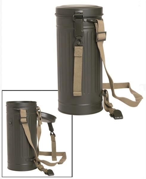 WH német gázálarc tartó doboz, 18246000