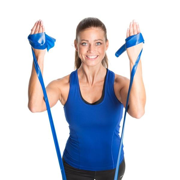 TheraBand™ Erősítő gumiszalag, extra erős, kék, TH4
