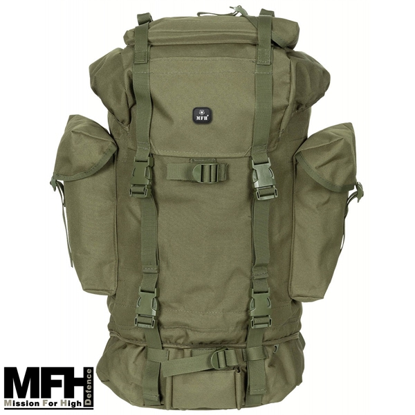 BW hátizsák 65 l-es, olív, 30253B
