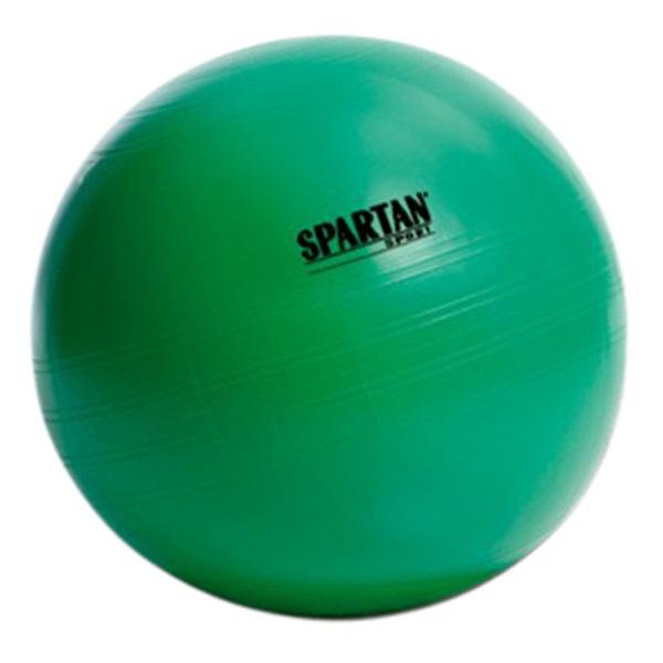 Spartan Gimnasztikai labda, zöld, 65cm, 000589