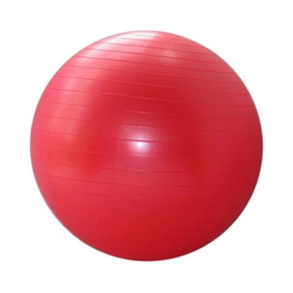 Spartan gimnasztikai labda, piros, 75 cm, 000565