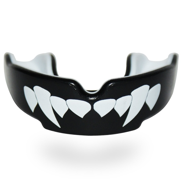 SafeJawz fogvédő, vámpírfog mintával, (sj2fangz)