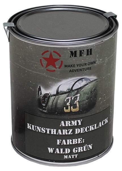 Katonai álcázó festék, 1l-es, matt WALD zöld, 27377D