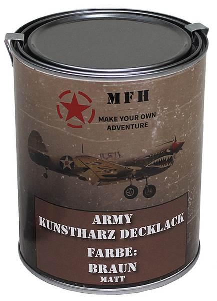 Katonai álcázó festék, 1l-es, matt barna, 27377G