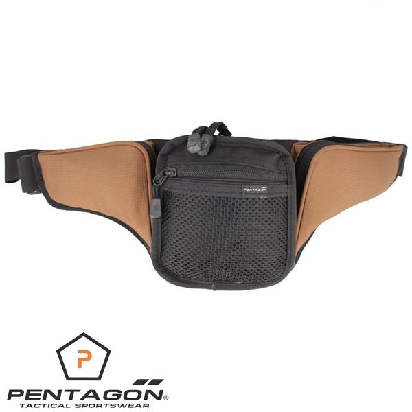 Pentagon Nemea övtáska rejtett fegyverviseléshez, coyote, K17055