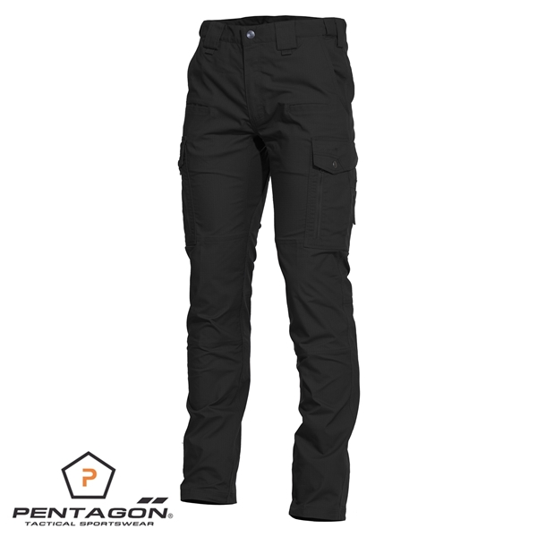 Pentagon Ranger taktikai nadrág, fekete, K05007