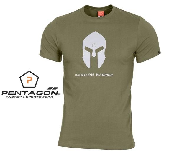 Pentagon Spártai taktikai póló, oliv, K09012SH