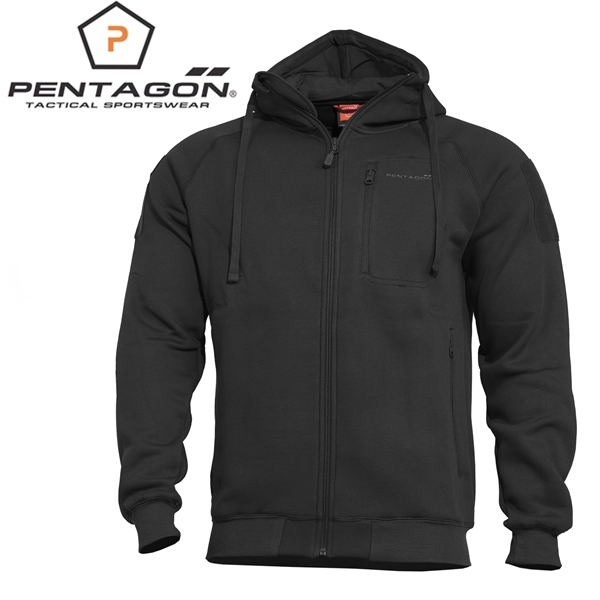 Pentagon Leonidas 2.0 taktikai pulóver, fekete, K08016