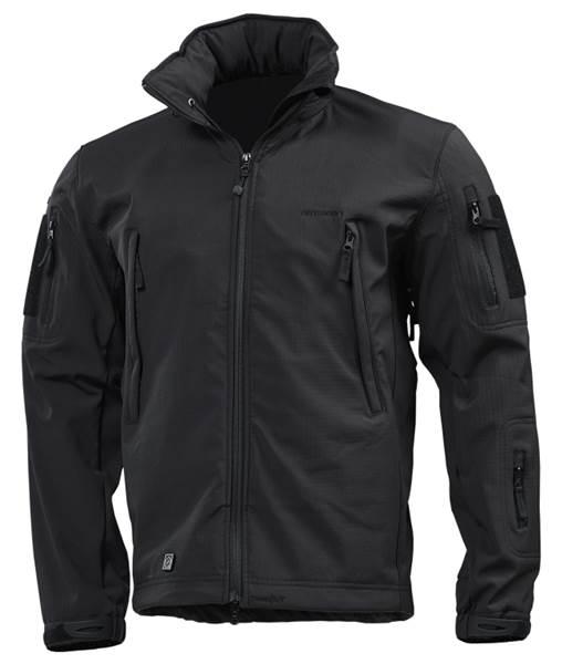 Pentagon Artaxes Soft-Shell taktikai kabát, fekete, K08011