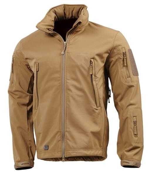 Pentagon Artaxes Soft-Shell taktikai kabát, coyote, K08011