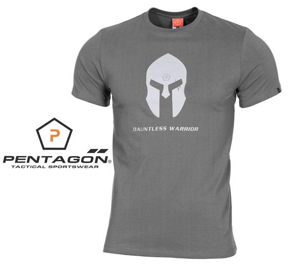 Pentagon Spártai taktikai póló, szürke, K09012SH