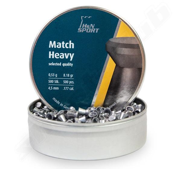 H&N Match Heavy, 4,5 mm