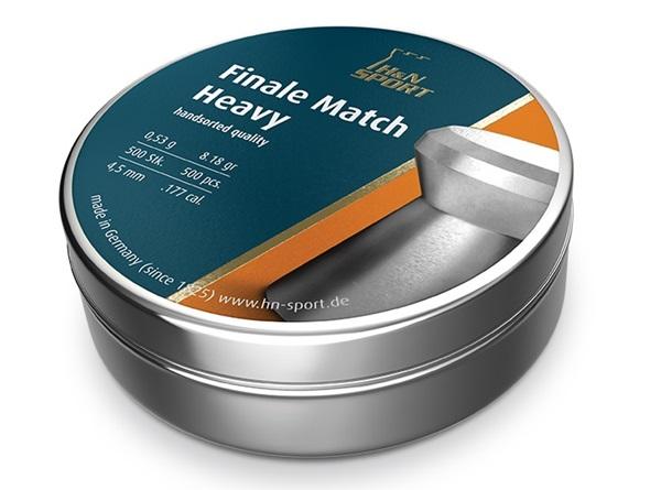 H&N Finale Match Heavy, 4,5 mm