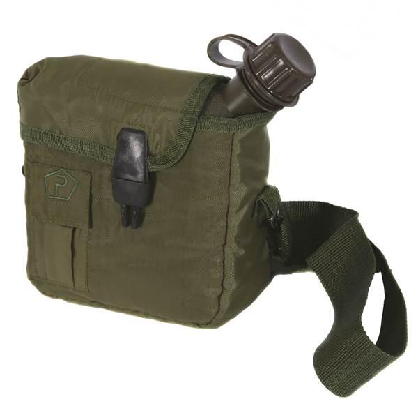 Pentagon taktikai 1,9l-es kulacs táskával, oliv, ST19004-Zöld