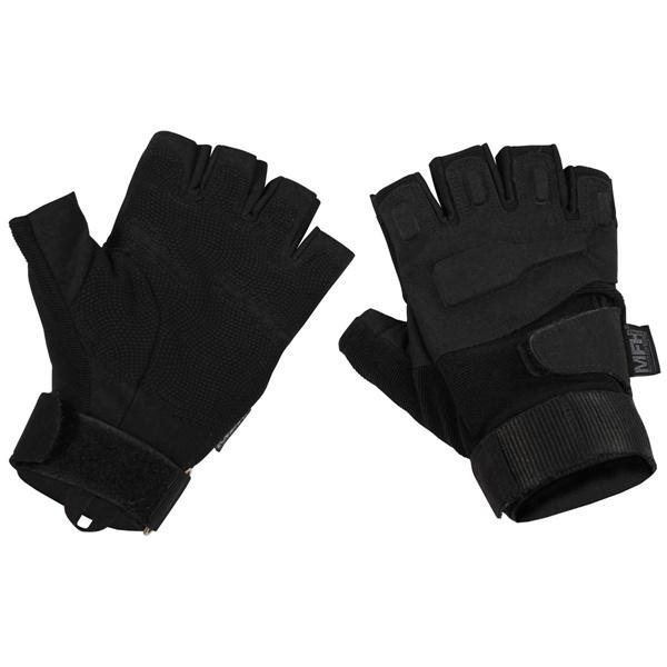 """""""Protect"""" ujjatlan, protectoros, taktikai kesztyű, fekete, 15553A"""