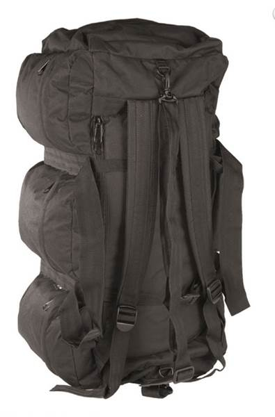 Mil-Tec utazótáska és hátizsák egyben, fekete, 13846002