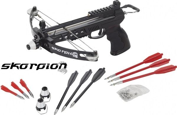 Skorpion PBX Dual csigás nyílpisztoly, 55i738
