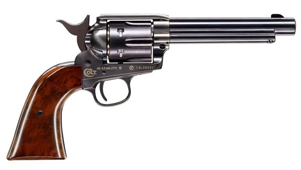 Colt Peacemaker CO2-es légpisztoly, fekete