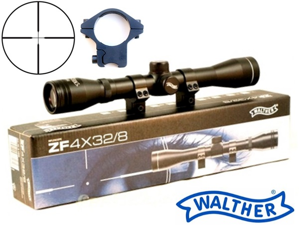 Walther ZF 4x32 fegyvertávcső, UM21500