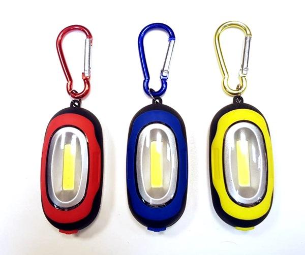 Karabíneres mini lámpa LED-del