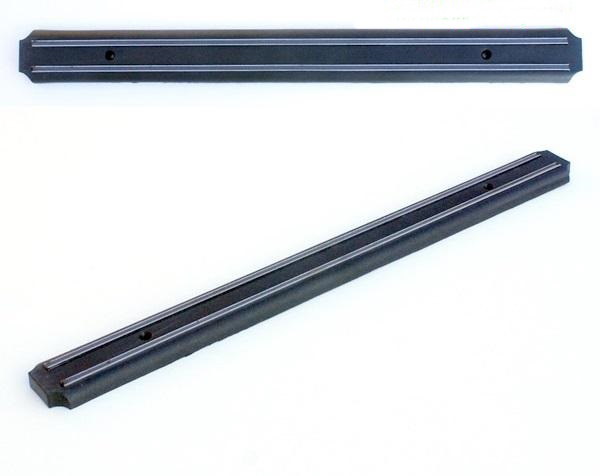 Mágneses késtartó, 48 cm-es, fekete