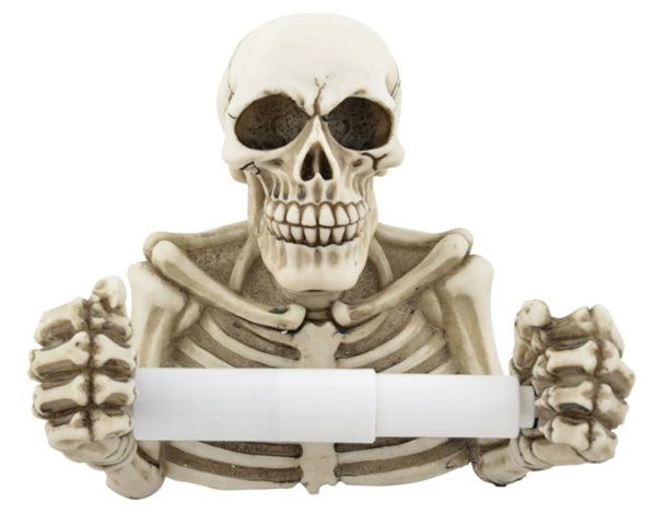 Csontvázas WC-papír tartó, 816-5434