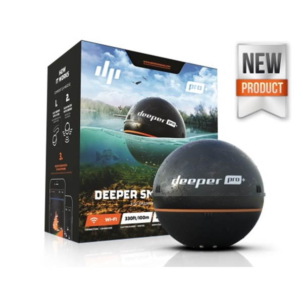 Deeper Smart Sonar+ vezeték nélküli halradar GPS-sel