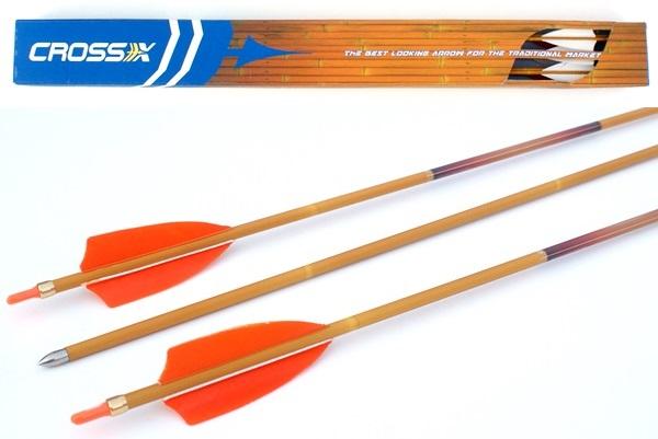 Cross-X Helios bambuszmintás carbon vessző, 600-as, 53N769