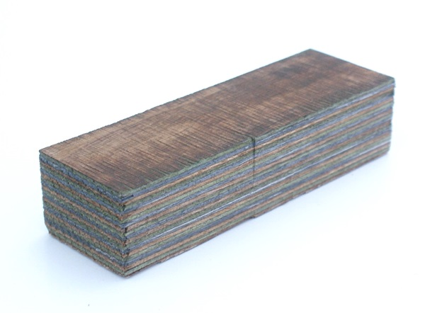 Laminált fa, camo, 120x40x30 mm, 66021