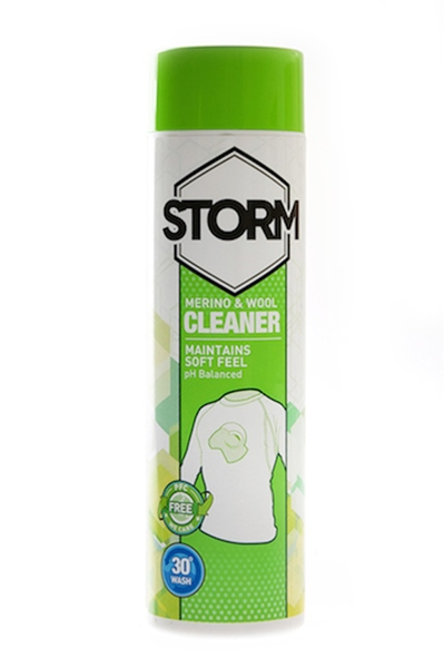 Storm Wash In Merino and Wool Cleaner 300 ml-es gyapjúmosó
