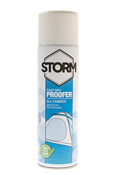 Storm Spray On Waterproofer Fast Dry 500 ml-es impregnálószer szövetre, sátorra